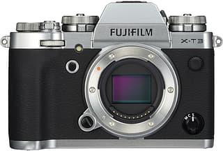 Fujifilm X-T3 -mikrojärjestelmäkameran runko, hopea