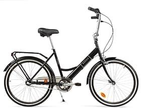 """Baana Suokki 24"""" -polkupyörä, 3-vaiht., musta"""