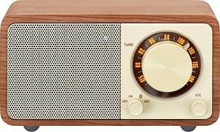 Sangean Genuine Mini WR-7 -FM-radio Bluetooth-yhteydellä, pähkinä