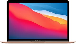 """Apple MacBook Air 13"""" M1 16 Gt, 512 Gt -kannettava, kulta"""