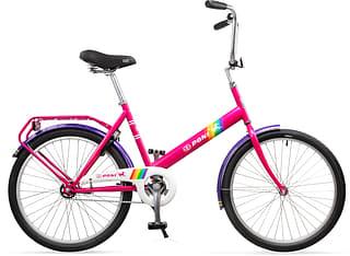 """Tunturi Taika-Poni -kaupunkipyörä, sateenkaari, 24"""""""