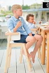 Sulo-tuoli, valkoinen/koivu, kuva 11