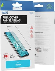 Wave Full Fit -panssarilasi, Honor View 20, musta