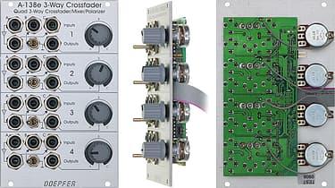 Doepfer A-138e Quad Three-Way Crossfader / Mixer / Polarizer  -Eurorack-moduuli, kuva 2