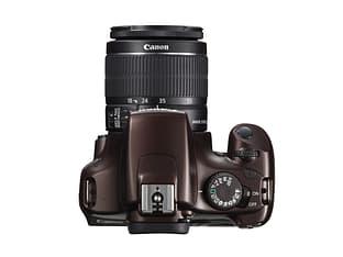 Canon EOS 1100D KIT 18-55 IS II -digijärjestelmäkamera, ruskea, kuva 2