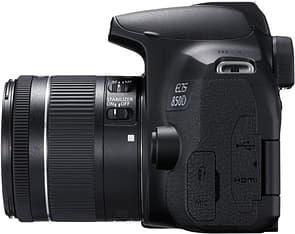 Canon EOS 850D -järjestelmäkamera, musta + 18-55 IS STM, kuva 3