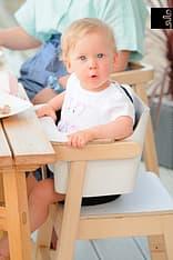 Sulo-tuoli, valkoinen/koivu, kuva 12