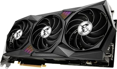 MSI GeForce RTX 3080 Ti GAMING X TRIO 12G -näytönohjain PCI-e-väylään, kuva 3