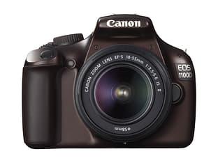 Canon EOS 1100D KIT 18-55 IS II -digijärjestelmäkamera, ruskea, kuva 3