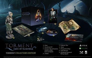 Torment Tides of Numenera - Collector's Edition -peli, PS4