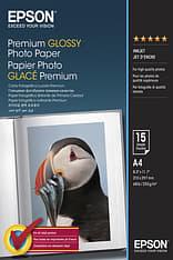 Epson Premium Glossy Photopaper -valokuvapaperi, A4, 50 arkkia