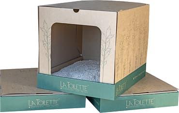 La Toilette ekologinen kissanvessa, 2 kpl