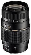 Tamron LD 70-300mm F/4,0-5,6 Di Macro Nikon AF tarkennusmoottorilla, musta