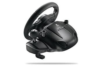 Logitech Driving Force GT PS2/PS3/PC -rattiohjain, kuva 2