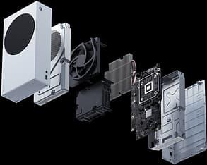 Microsoft Xbox Series S -pelikonsoli, valkoinen, kuva 7