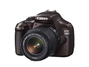 Canon EOS 1100D KIT 18-55 IS II -digijärjestelmäkamera, ruskea