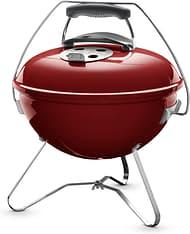Weber Smokey Joe Premium -hiiligrilli, punainen