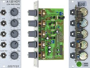 Doepfer A-120 24dB Low Pass 1 (VCF1) -Eurorack-moduuli, kuva 2