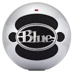 Blue Snowball USB-mikrofoni, harjattu alumiini