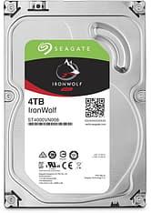 """Seagate IRONWOLF 4 Tt SATAIII 64 Mt 3,5"""" -kovalevy"""