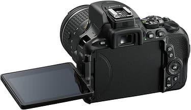 Nikon D5600 KIT järjestelmäkamera + AF-P DX NIKKOR 18-55MM F/3.5-5.6G VR, kuva 6