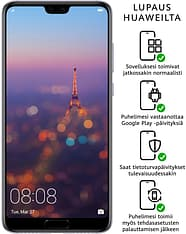 Huawei P20 PRO -Android-puhelin Dual-SIM, 128 Gt, purppura