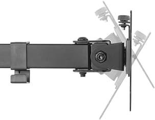 Mozi Basic Stand with Dual Joint -pöytäjalka yhdelle näytölle, kuva 11