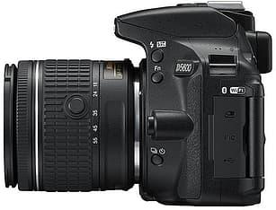 Nikon D5600 KIT järjestelmäkamera + AF-P DX NIKKOR 18-55MM F/3.5-5.6G VR, kuva 3
