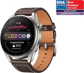 Huawei Watch 3 Pro LTE -älykello 48mm, Ruskea nahkaranneke