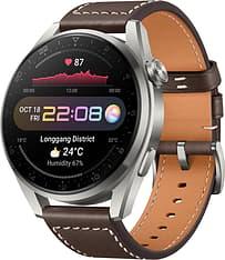 Huawei Watch 3 Pro LTE -älykello 48mm, Ruskea nahkaranneke, kuva 2