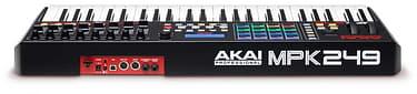 Akai MPK249 MIDI-koskettimisto USB-väylään, kuva 2