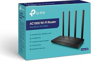 TP-LINK Archer C80 Dual-band -WiFi-reititin, kuva 4