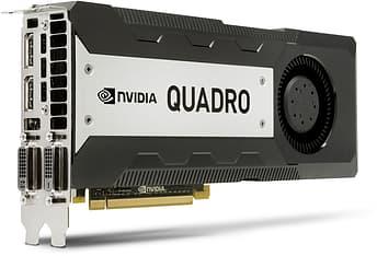 HP NVIDIA Quadro K6000 12 GB PCI Express 3.0 x16 -näytönohjain