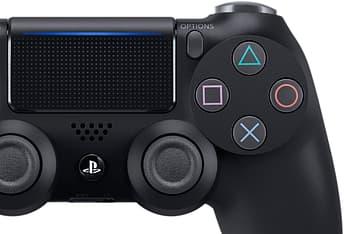 Sony DualShock 4 v2 -peliohjain, Black, PS4, kuva 2