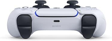 Sony DualSense -peliohjain, valkoinen, PS5, kuva 3