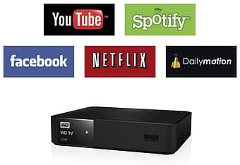 WD TV Live Gen 3 Full HD 1080p -verkkomediatoistin