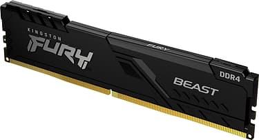 Kingston FURY Beast DDR4 2666 MHz CL16 8 Gt -muistimoduli, kuva 2