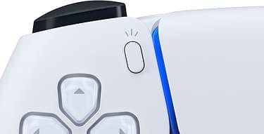 Sony DualSense -peliohjain, valkoinen, PS5, kuva 4