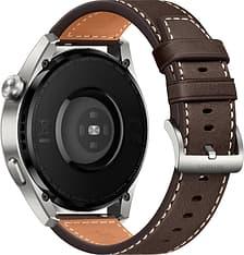 Huawei Watch 3 Pro LTE -älykello 48mm, Ruskea nahkaranneke, kuva 3