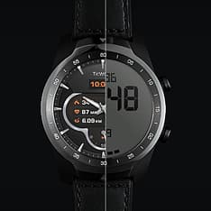 Mobvoi Ticwatch Pro -älykello, musta/musta, kuva 6