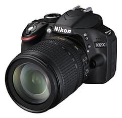 Nikon D3200 KIT musta järjestelmäkamera + AF-S DX 18-105 mm VR objektiivi, kuva 2