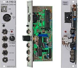 Doepfer A-190-3 USB/MIDI-to-CV / Gate Interface -Eurorack-moduuli