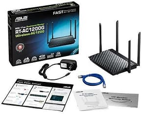 Asus RT-AC1200G+ Dual-band 2-in-1 -WiFi-reititin, kuva 5