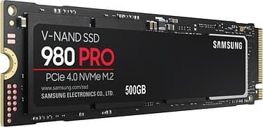 Samsung 980 PRO SSD 500 Gt M.2 -SSD-kovalevy