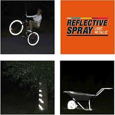Albedo 100 Reflective Spray, Light Metallic -heijastinsuihke 200ml, kuva 2