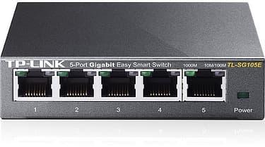 TP-LINK TL-SG105E -5-porttinen kytkin