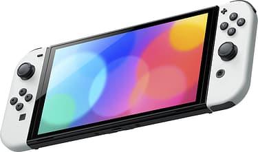 Nintendo Switch OLED -pelikonsoli, valkoinen, kuva 2