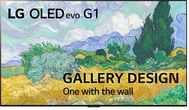 """LG OLED55G1 55"""" 4K Ultra HD OLED evo -televisio"""