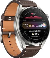 Huawei Watch 3 Pro LTE -älykello 48mm, Ruskea nahkaranneke, kuva 4