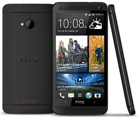HTC One (M7) Android puhelin, musta